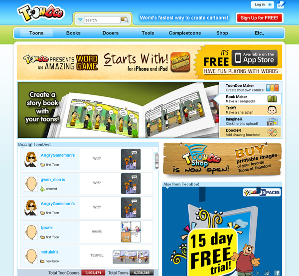 10 Cool Sites To Create Your Own Comics Online - Hongkiat