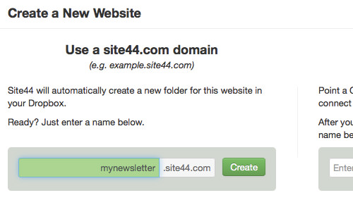 Site44 Domain Name