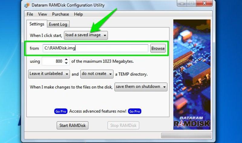 ram configuration utility