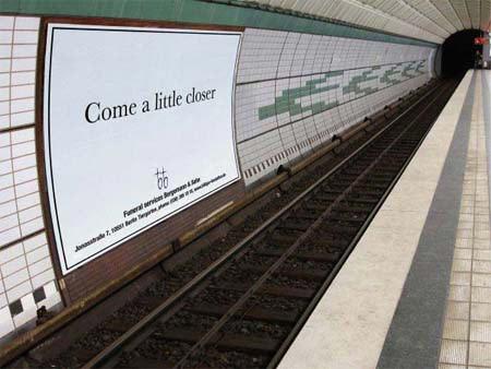 Bergmann funeral service ad