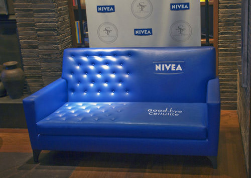 Nivea - Goodbye Cellulite Sofa ad