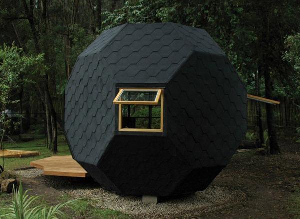 Habitable Polyhedron by Manuel Villa