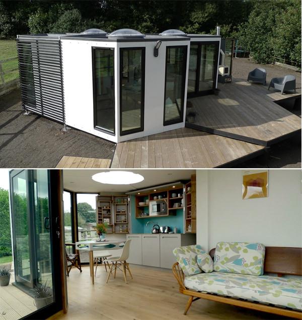Modular Hexagonal Home