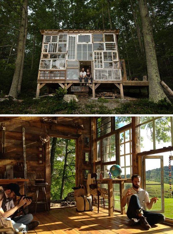 $500 DIY Glass Home