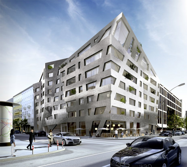Apartment Building Daniel Libeskind