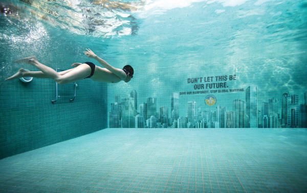 regional environmental awareness swimming pool