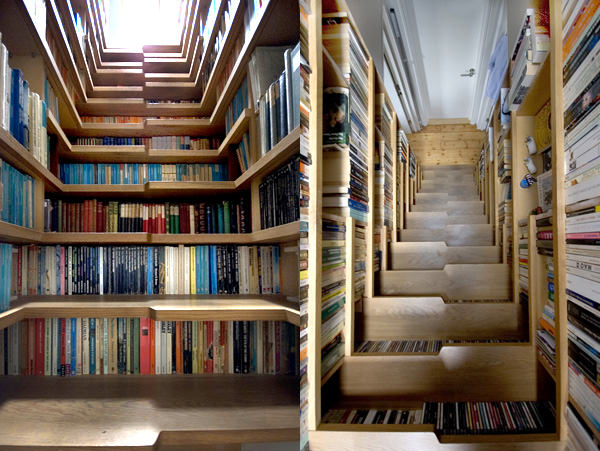 The Staircase Bookshelf