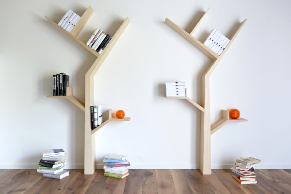 Creative Bookshelf Designs You Have Got To See Hongkiat - Corner tree bookshelf