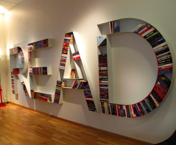 25 Creative Bookshelf Designs You Have Got To See - Hongkiat