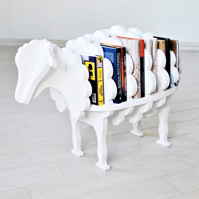 sheep-bookshelf