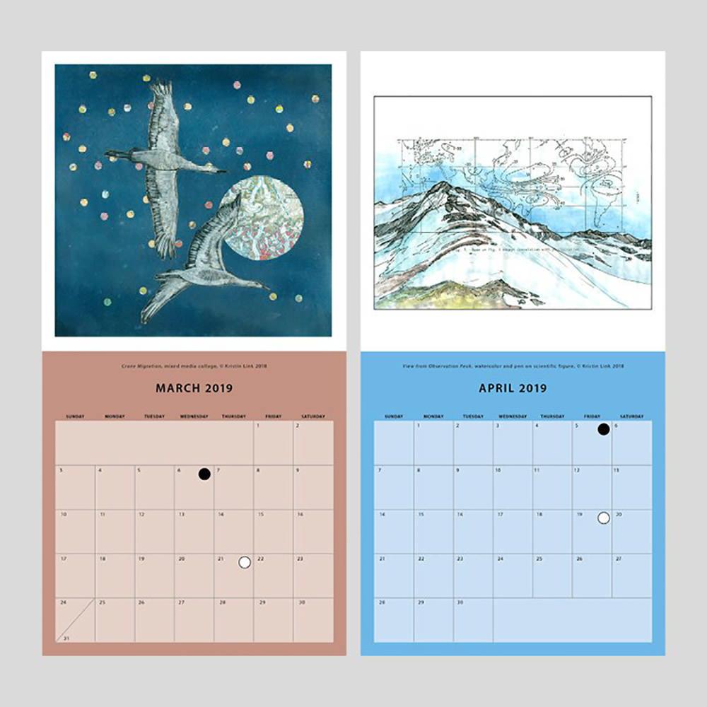 Alaskan 2019 Calendar