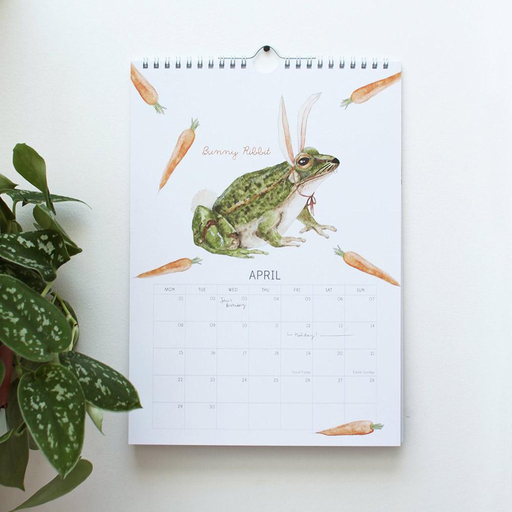 Animal Fancy Dress Calendar