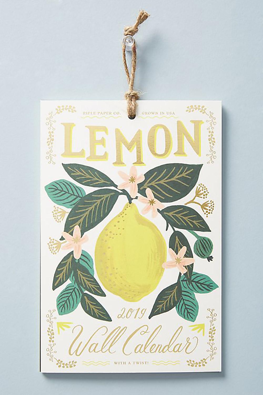 Lemons 2019 Calendar