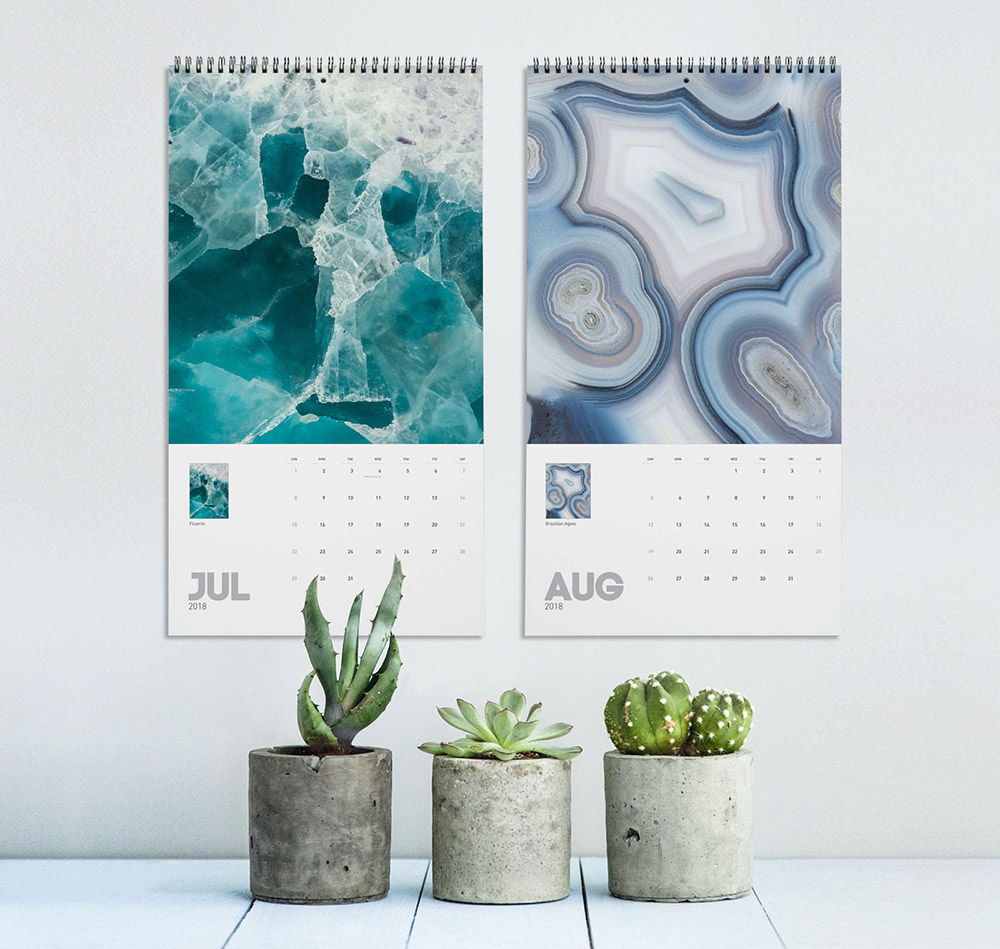 Mineral Photography Calendar