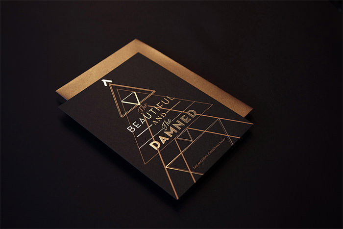 beautiful Christmas card design