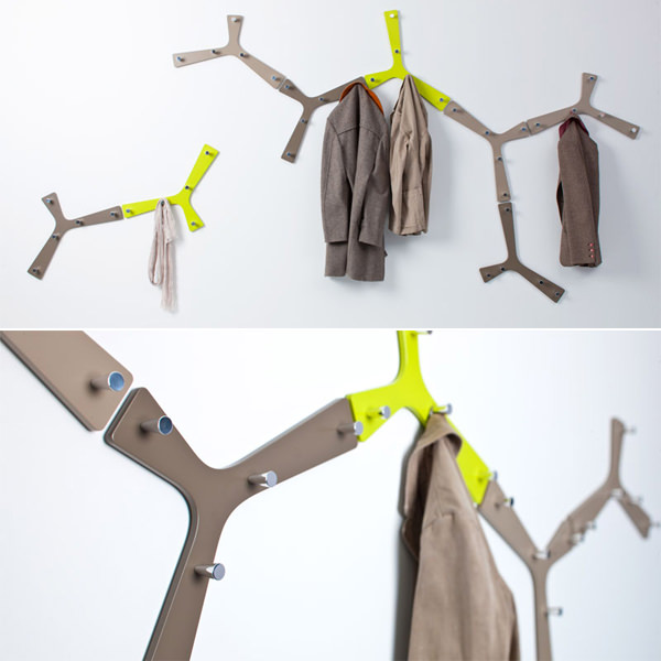 15 Weird And Wacky Coat Hook Designs