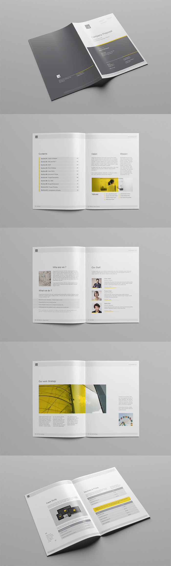 company-proposal-free-template
