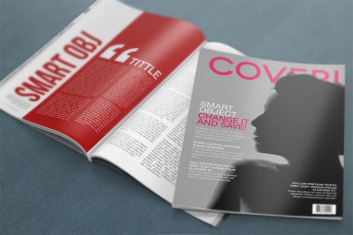 free-psd-magazine