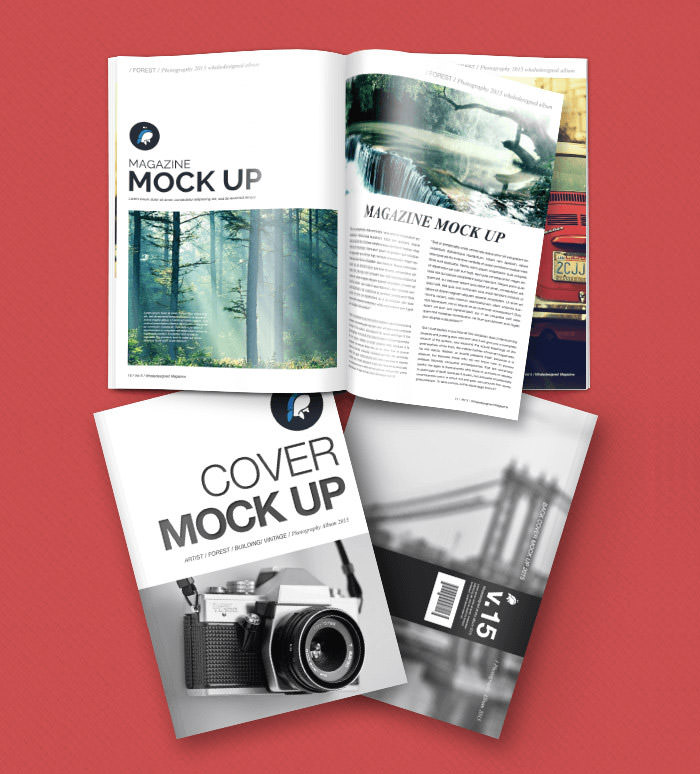 magazine layout templates free download