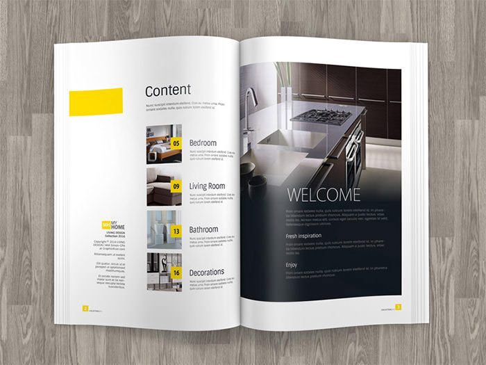 Awesome Free Design Magazines #10: Brochure-magazine