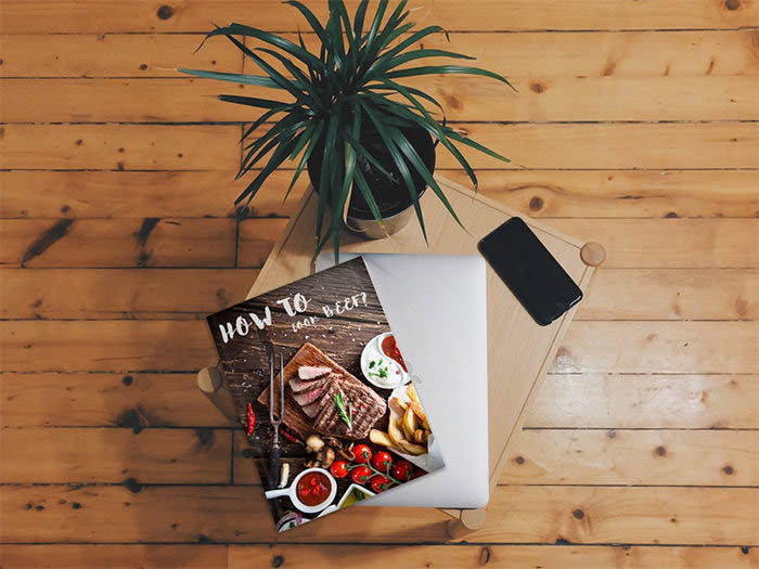 magazine-on-table-mockup