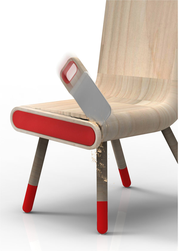anti crise chair - handsaw