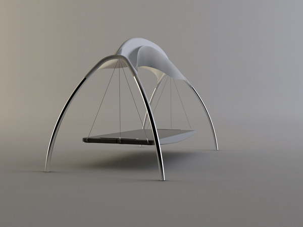 swing chair - bed mode
