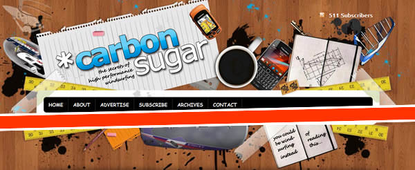 website header footer design