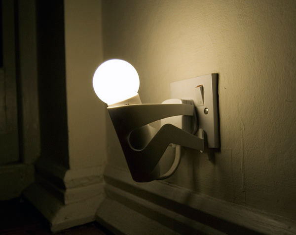 creative home lighting. Light Blubs. Dude, I Think Your Lightbulb Is Sick. (Image Source: Pieke Bergmans) Creative Home Lighting E