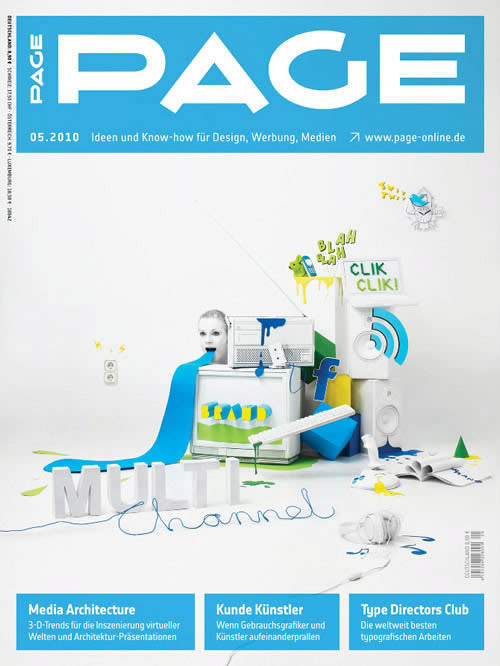 magazine cover design