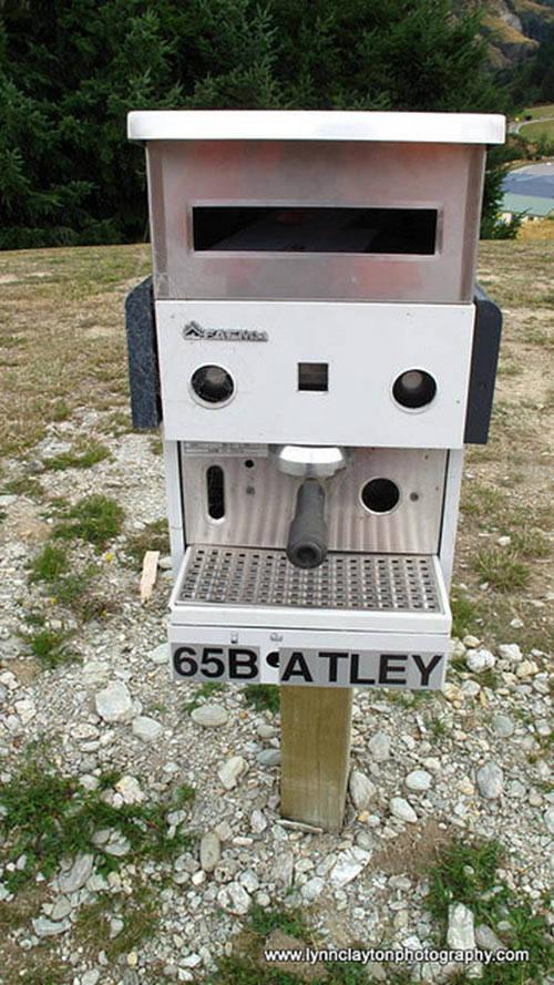 Espresso Mailbox