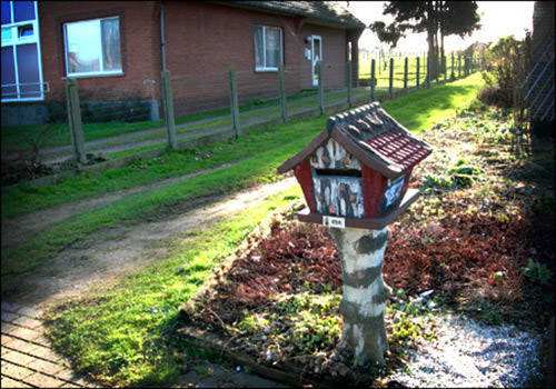 Fairytail house mailbox