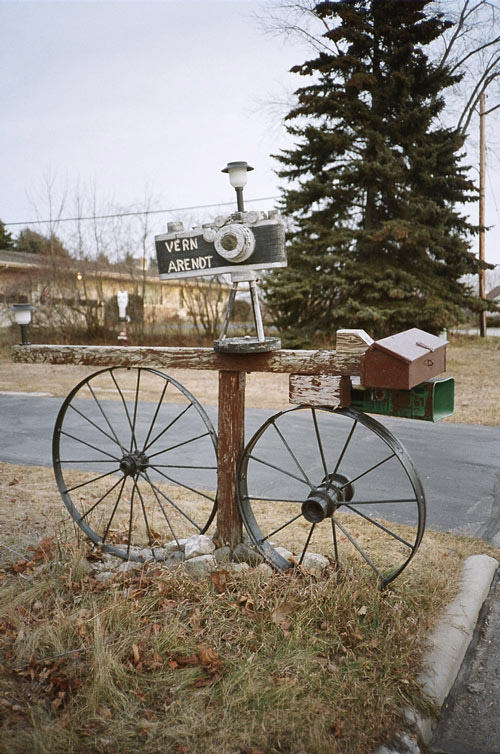 Vintage style mailbox