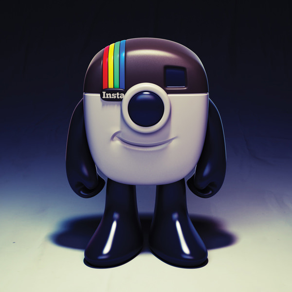 logo instagram lucu