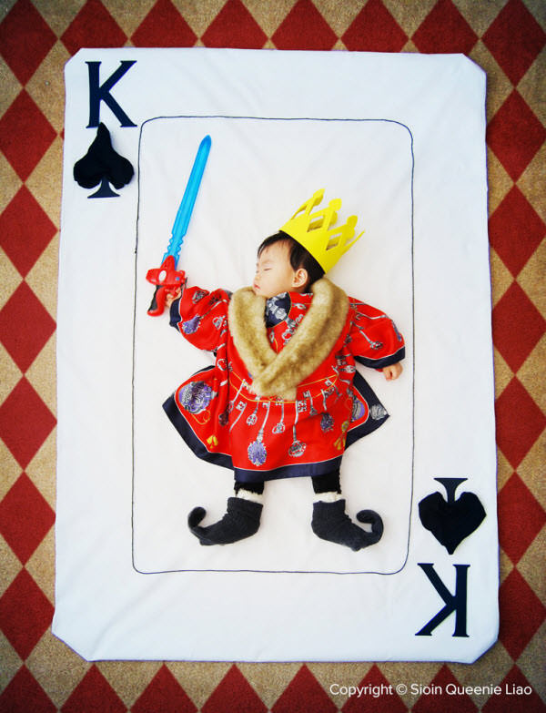 mighty king of spades