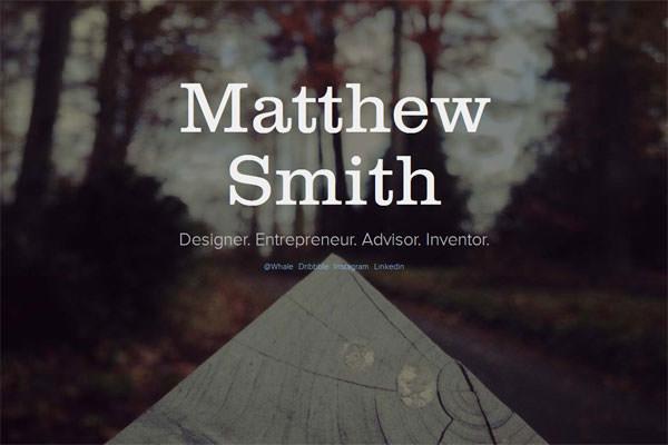 Matthew-Smith-Website