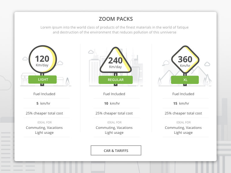 zoom packs