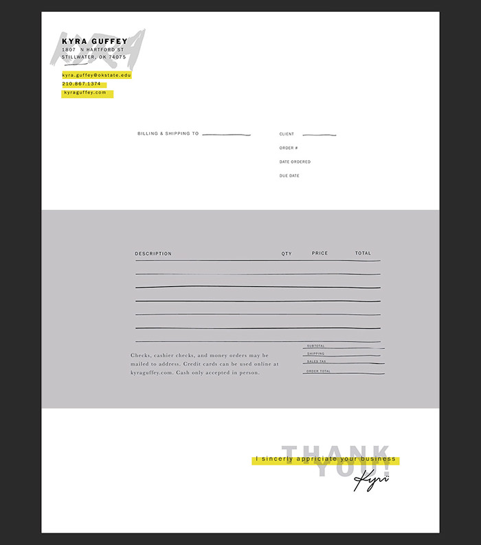 self-promotion-invoice