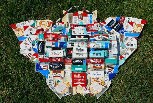 cigarette pack artwork