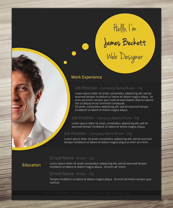 Outstanding Resume Designs You Wish You Thought Of  Hongkiat