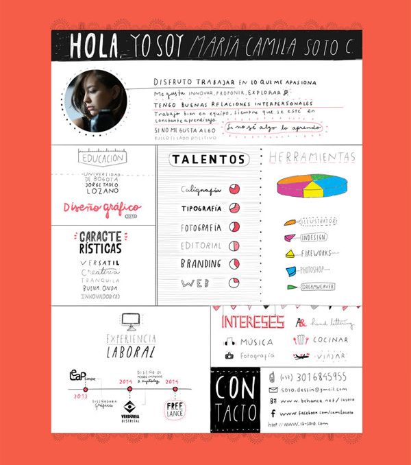 30 Outstanding Resume Designs You Wish You Thought Of - Hongkiat