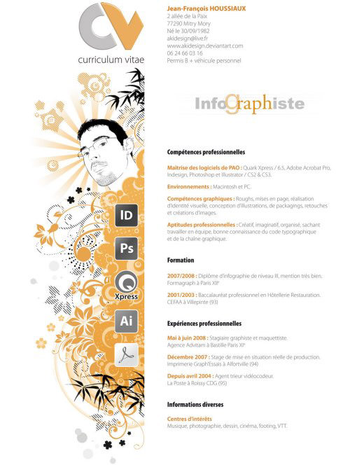 45 creative resumes to seize attention hongkiat - Creative Resume Ideas