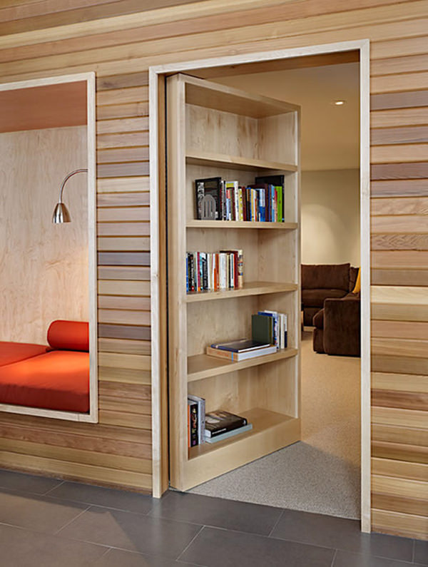 Tiny House  At first glance  you would think that there s nothing on top of  the shelf but with a quick climb of a ladder  you have access to your very  own. 20 Secret Room Ideas You Wanted Since Childhood   Hongkiat