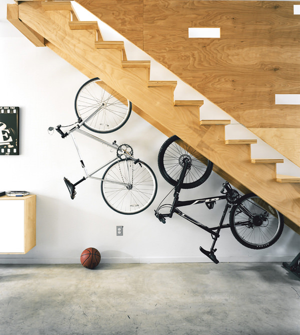 20 Creative Ideas To Use The Space Under Your Stairs