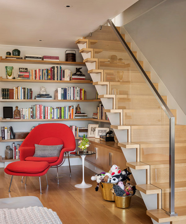 Under Stair Ideas Part - 20: 20 Creative Ideas To Use The Space Under Your Stairs