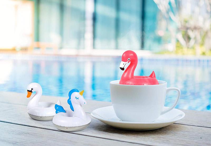 Swan Pool Float Tea Infuser