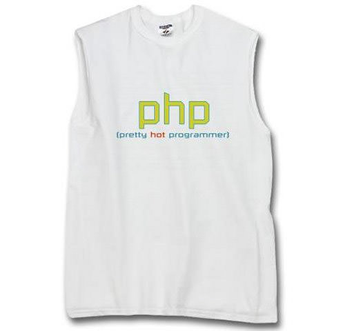 PHP (pretty hot programmer)