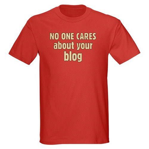 No One Cares Blog