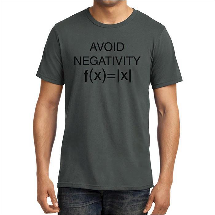 avoid-negativity-geek-t-shirt