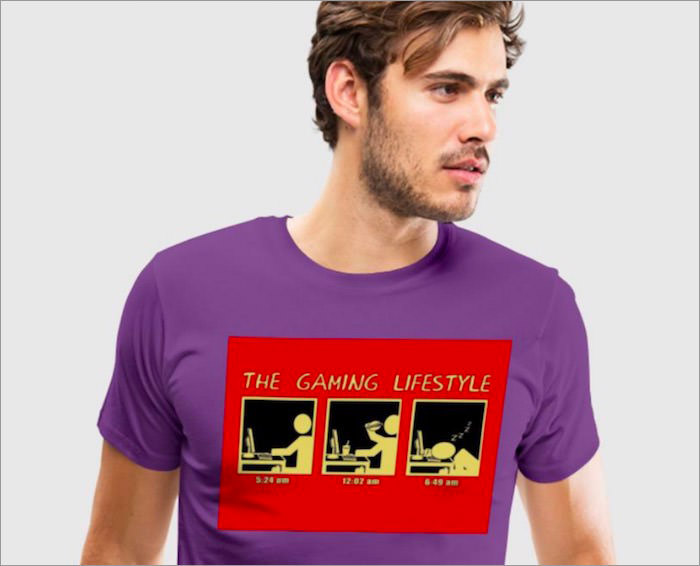 gaming-lifestyle-t-shirt